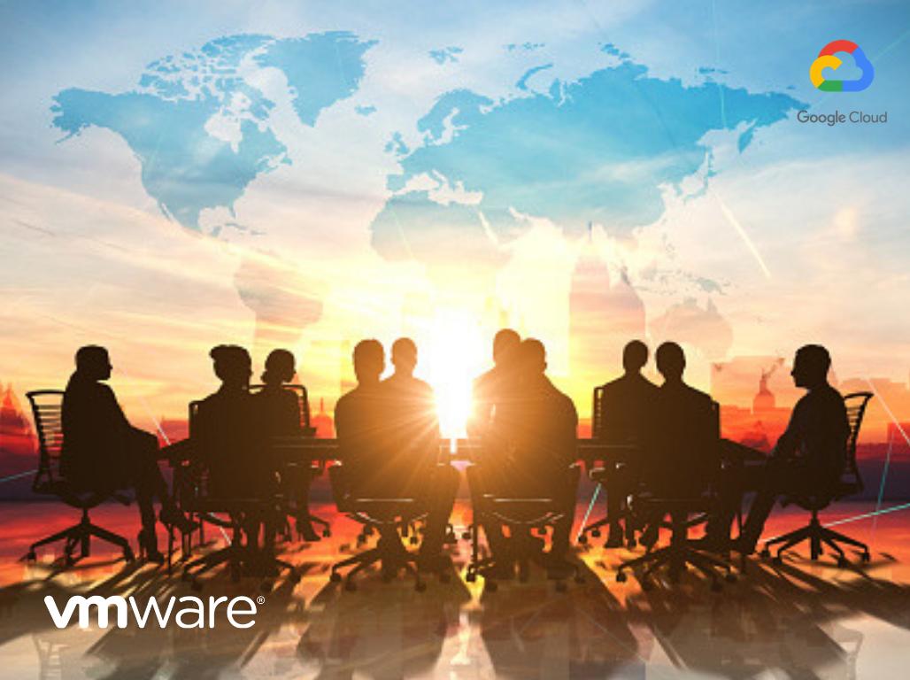VMware and Google Cloud partnership blog