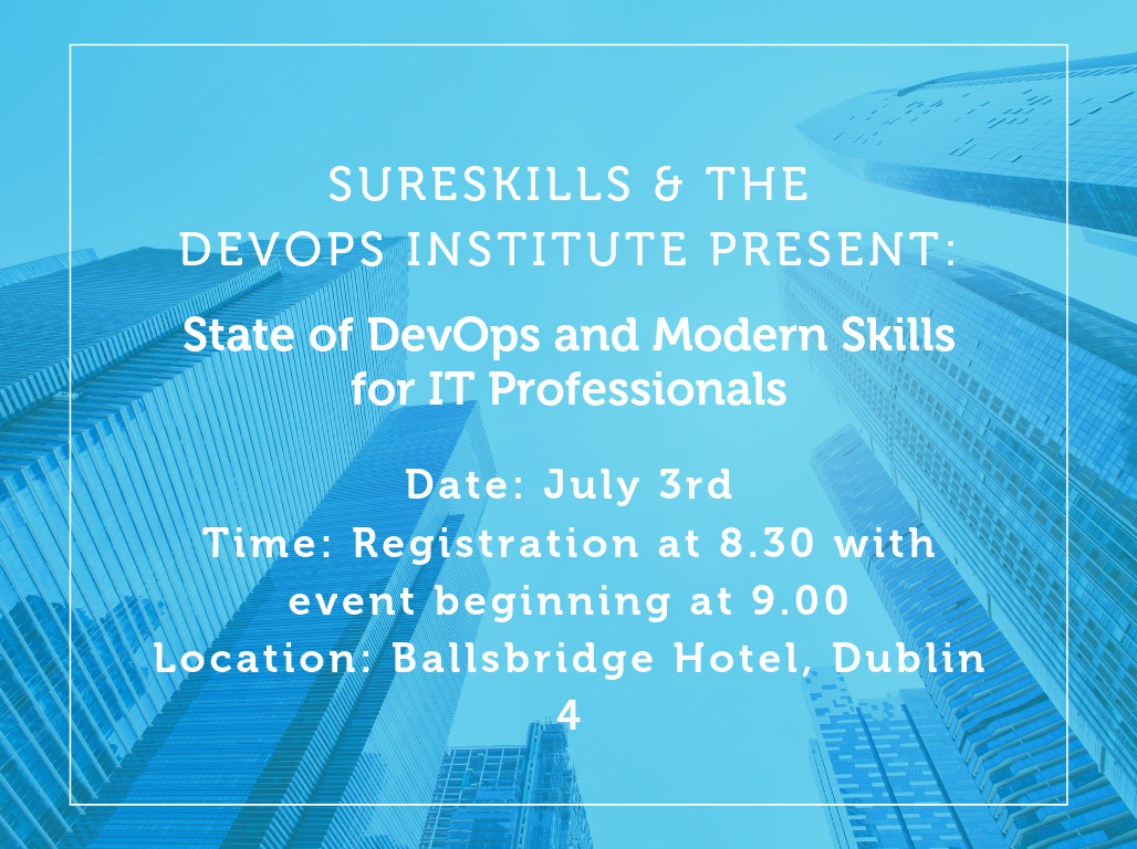 EVENT: The State of DevOps and Modern Skills for IT Professionals